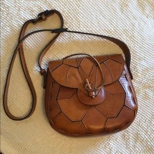 Patricia Nash genuine leather crossbody bag
